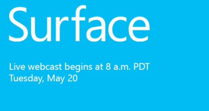 Microsoft Surface event: Live blog stream roundup