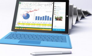 Microsoft UK push Surface Pro 3 specs hard
