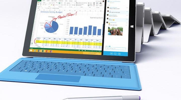 Microsoft UK push Surface Pro 3 specs hard