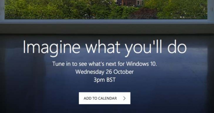 Microsoft event today, countdown to live product launch