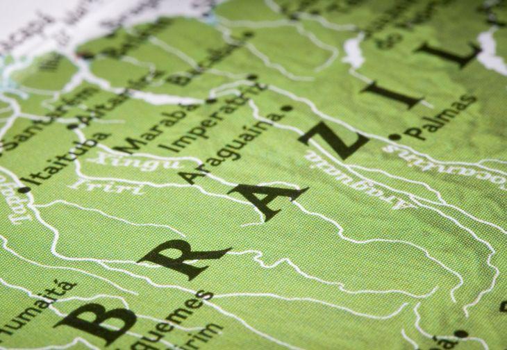 Microsoft maps including Brazil shanty towns