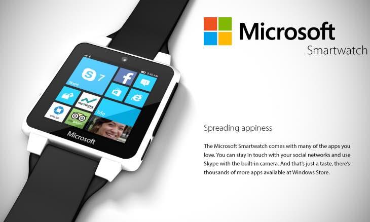 Microsoft smartwatch imminent