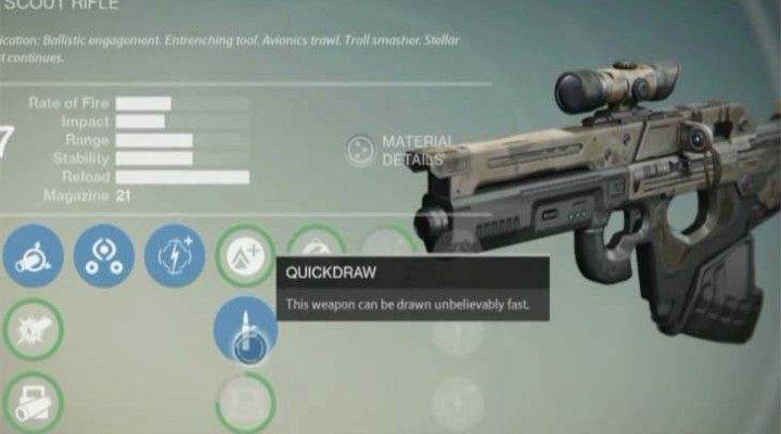 Destiny Xur's Mida Multi Tool Scout Rifle review