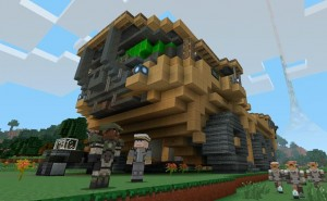 Minecraft Halo Mash-Up Pack DLC tease for Xbox 360