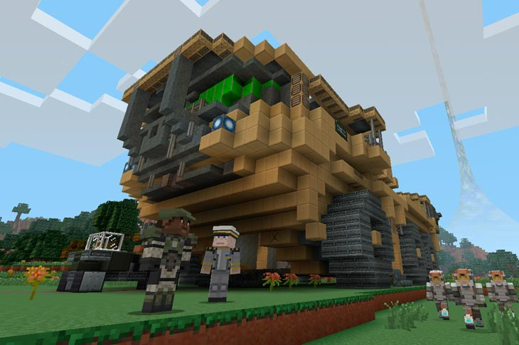 Minecraft-Halo-Mash-Up-Pack-DLC
