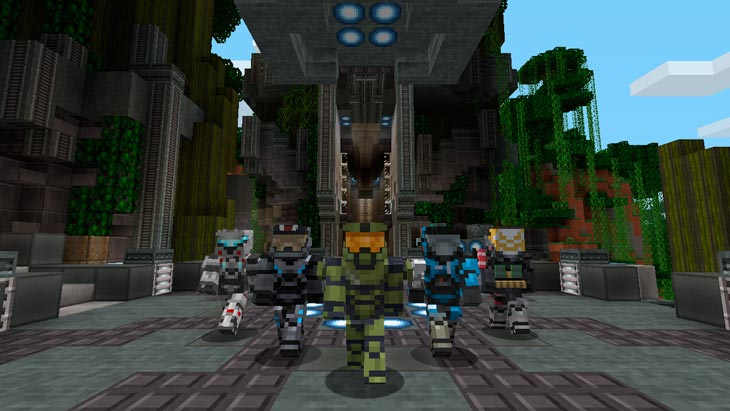Minecraft-Halo-Mash-Up-Pack-screens