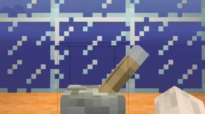 Minecraft Ocean gameplay in Xbox 360 Edition