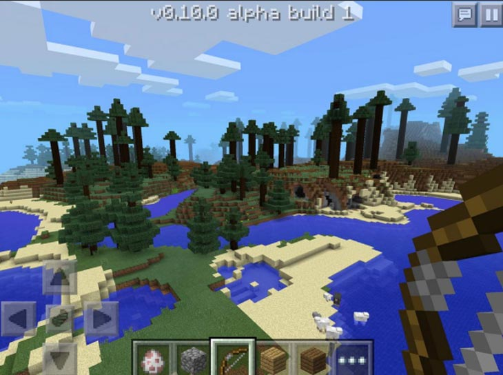 Minecraft-PE-OpenGL-2-update-0-11