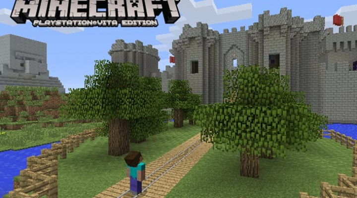 Minecraft PS Vita digital release time