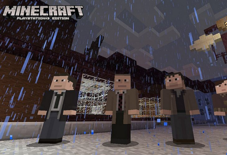 Minecraft PS3 update 14, list of skins and features