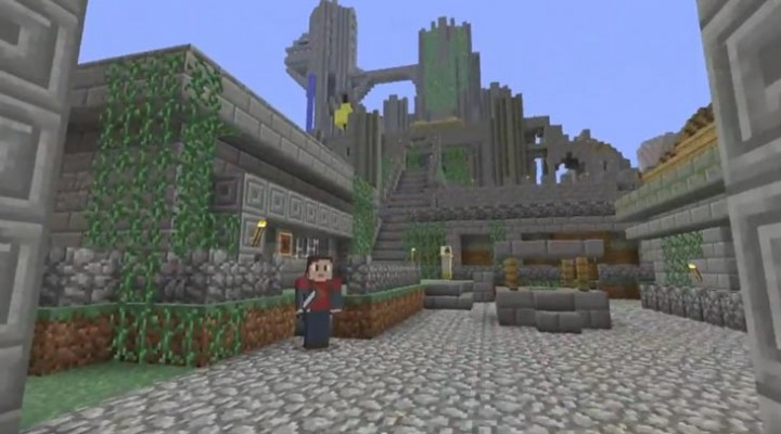 Minecraft PS4 announcement trailer on PS
