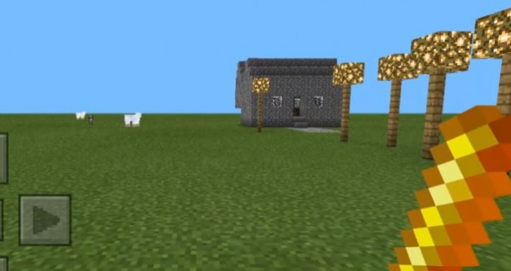 Minecraft Pocket Edition mods for boat and instant house