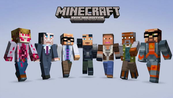 Minecraft Xbox 360 1.8.2 update meets impatience
