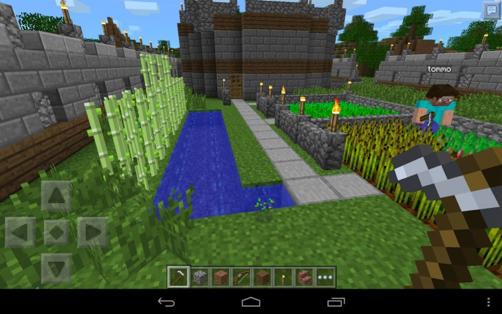 Minecraft for Android update