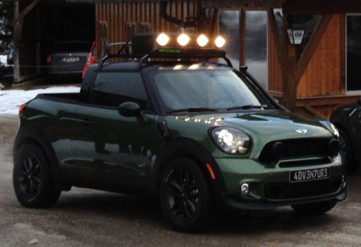 Mini Paceman pickup release discussed