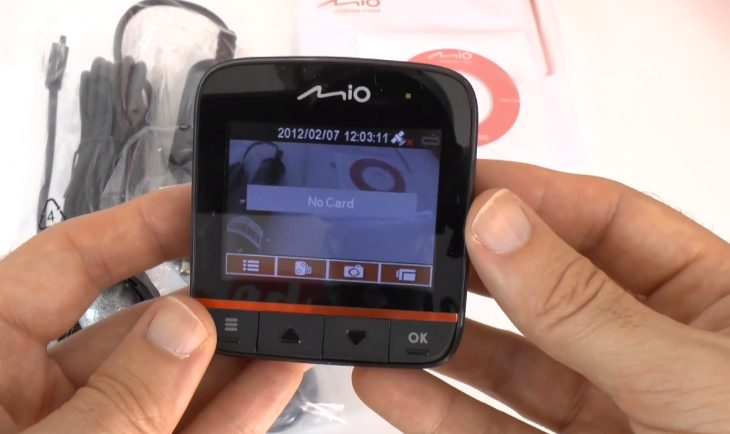 Mio MiVue 388 HD will record video in your car
