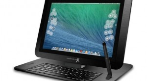 Modbook Pro X is a 15.4-inch iPad with OS X