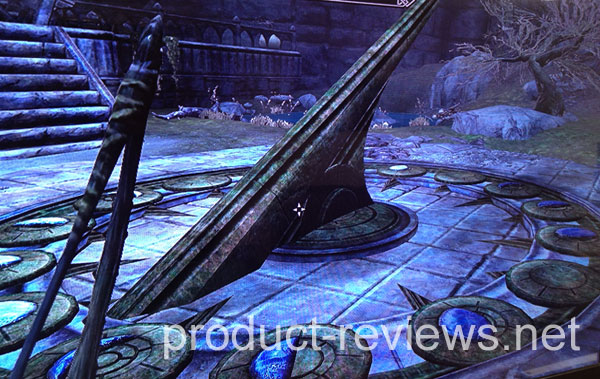 Moondial puzzle during Skyrim Dawnguard review