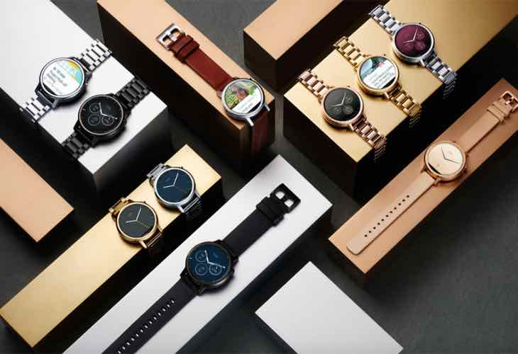 Moto 360 2 men and women's options