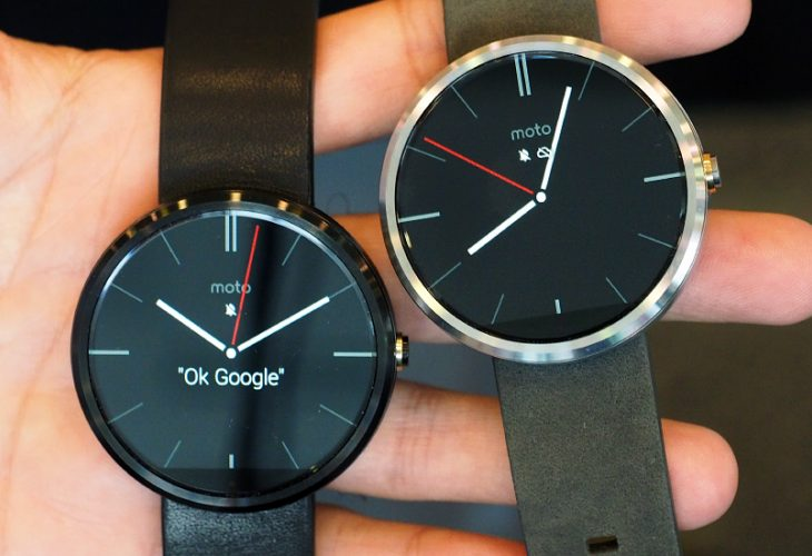 Moto 360 concerns with responsiveness and black bar