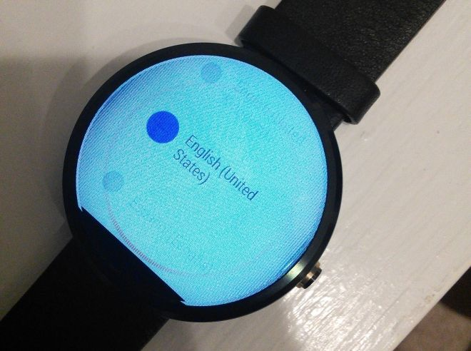 Moto 360 display issue