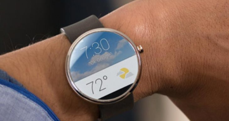 Moto 360 watch design video