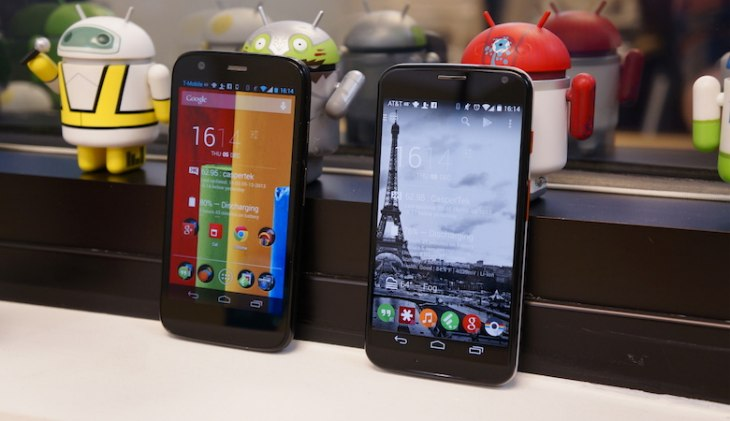 Moto E vs Moto G spec comparison