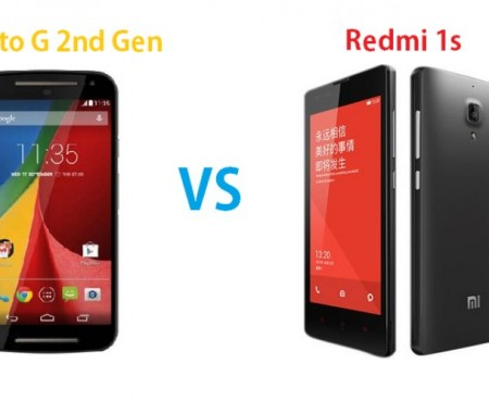 Moto G 2nd-gen vs. Redmi 1S in India comparison