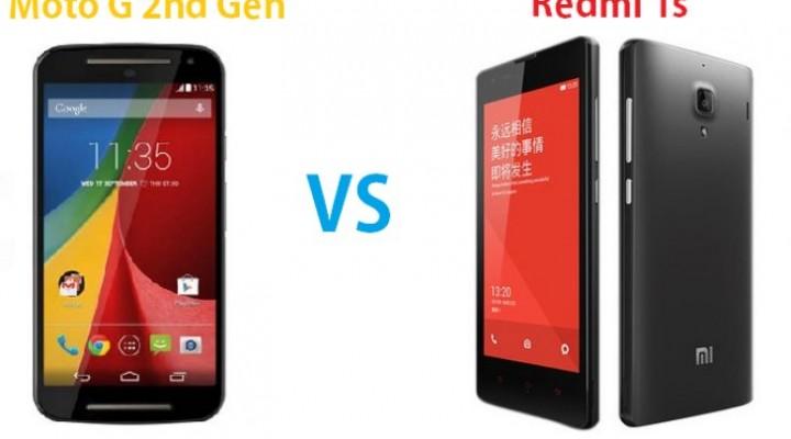 Moto G 2nd-gen vs. Redmi 1S in India comparison