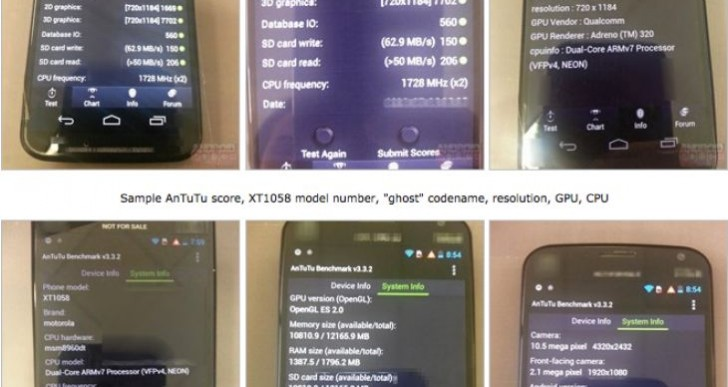 Moto X Phone vs. Galaxy S4, unlikely comparison following benchmark test