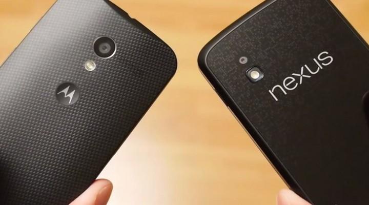 In-hand: Moto X vs. Nexus 4 and Galaxy S4
