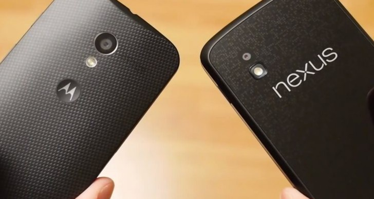 In-hand: Moto X vs. Nexus 4 and Galaxy S4