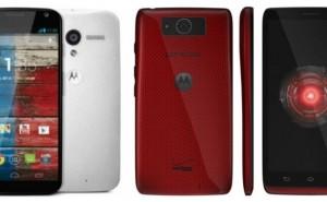 Moto X vs. Droid Ultra in Motorola square off