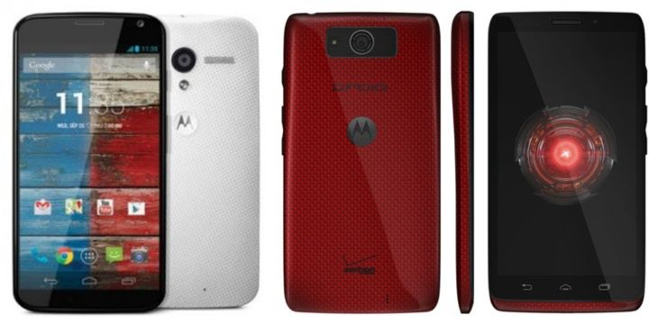 Moto X vs. Droid Ultra in Motorola square off
