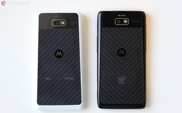 Motorola Droid Razr M vs. Razr i, separated at birth