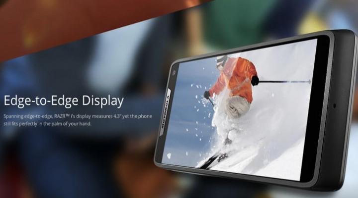 Motorola RAZR i, review of relatively inexpensive smartphone