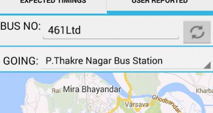 Mumbai Bus Route Timings app during Swabhiman Union Taxi strike