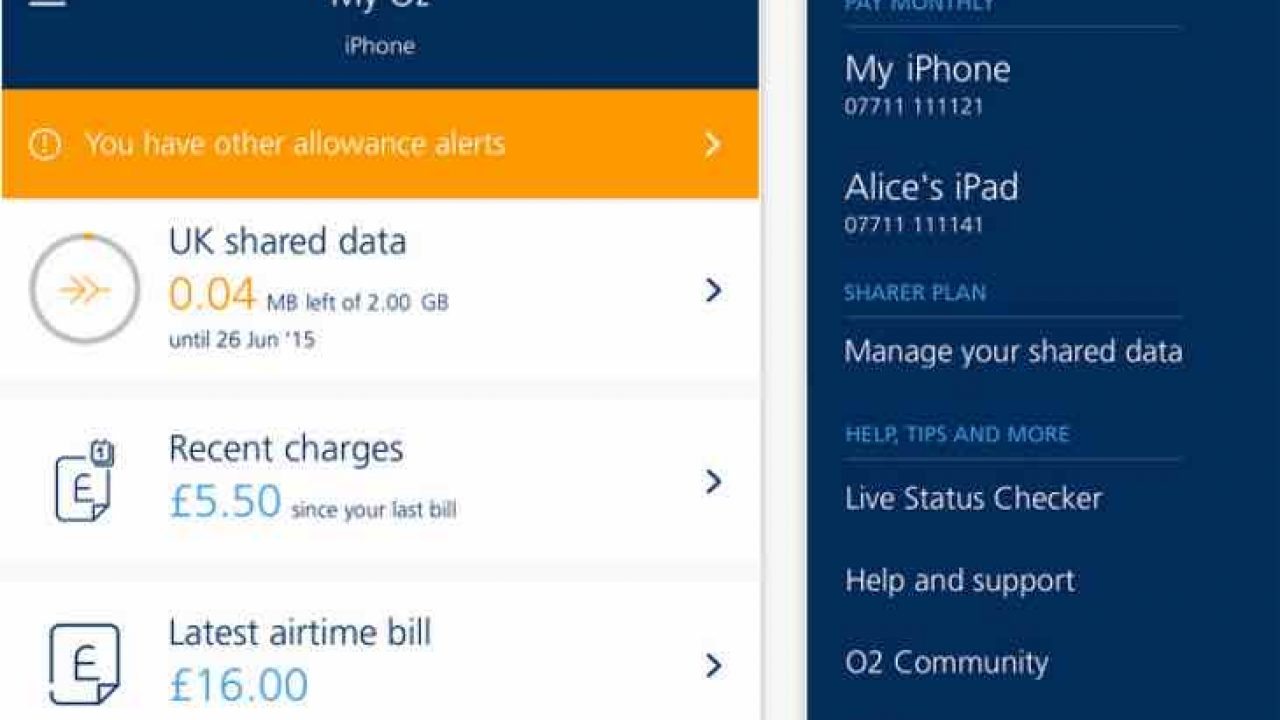 My O2 app update for iOS 9 desired – Product Reviews Net