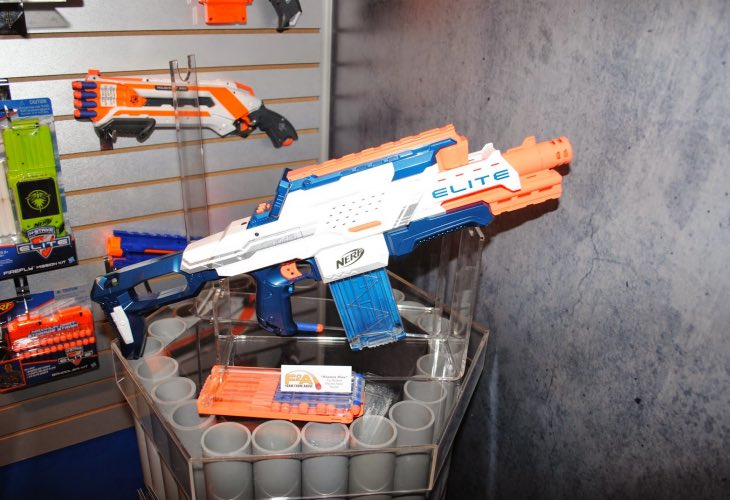 N-Strike Elite Nerf Cam ECS-12 Blaster