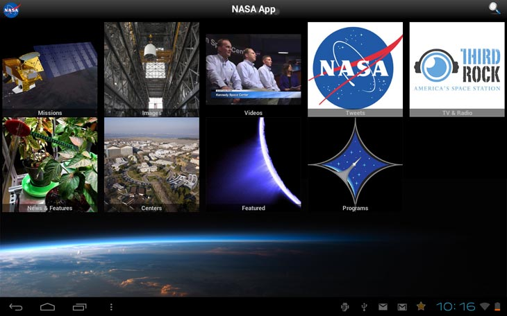 NASA-android-app