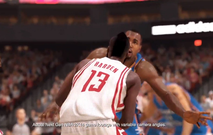 NBA 2K14 PS4 gameplay coincides with release