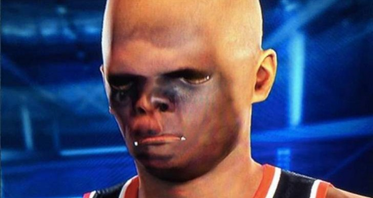 NBA 2K15 Face scan update after early Halloween