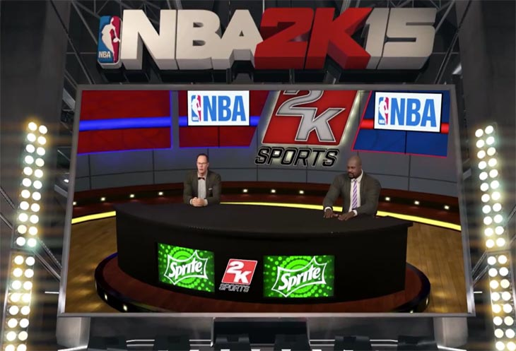 NBA 2K15 recent trailer