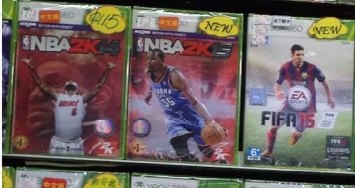 NBA 2K15 leaked early, street date broken