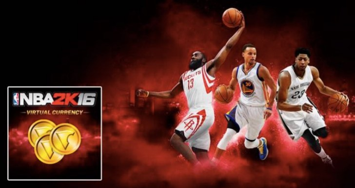 NBA 2K16 Locker Codes for 10,000 VC on PS4