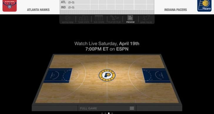 NBA playoffs live iPad, iPhone stream