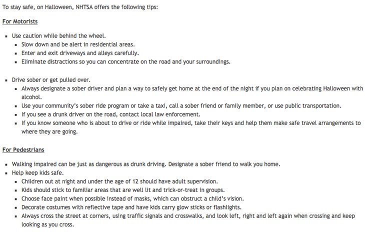 NHTSA-Halloween-safety-tips