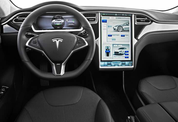 Telsa Motors introduces self-driving car