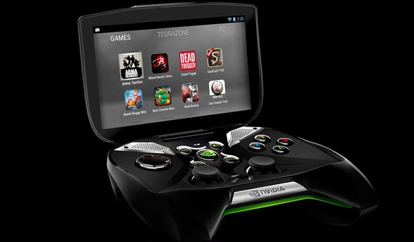 NVIDIA Project Shield at CES 2013 press conference