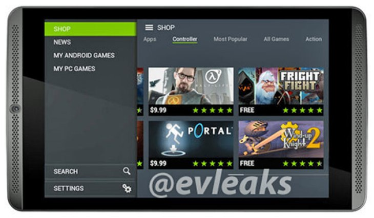 NVIDIA Shield tablet a 7.9-inch HTC One